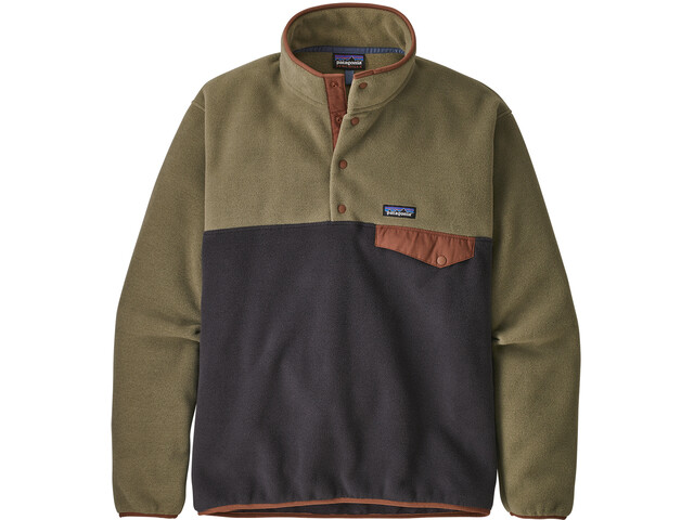 Patagonia Lightweight Synchilla Snap-T Pullover Hombre, sage khaki